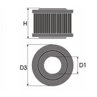 Sportovní filtr Green RENAULT R19 1,8L i monopoint  výkon 66kW (90 hp) rok výroby 91-