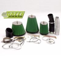 Kit přímého sání Green RENAULT MEGANE SCENIC 1 1,9L DTI (sans sonde de Temp) výkon 72kW (98hp) rok výroby 97-99