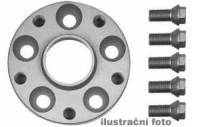 HR podložky pod kola (1pár) RENAULT Kangoo+Safrane (4-otvorů) rozteč 100mm 4 otvory stř.náboj 60,1mm -šířka 1podložky 25mm /sada obsahuje montážní materiál (šrouby, matice)