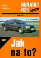 Kniha RENAULT 21 benzin /1986 - 1994/