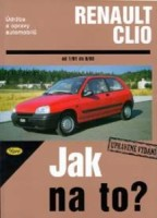 Kniha RENAULT CLIO /55 - 135 PS a diesel/ 1/91 - 8/98